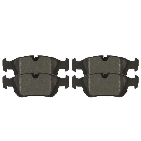 Front Semi Metallic Brake Pad Set - Part # SMK781