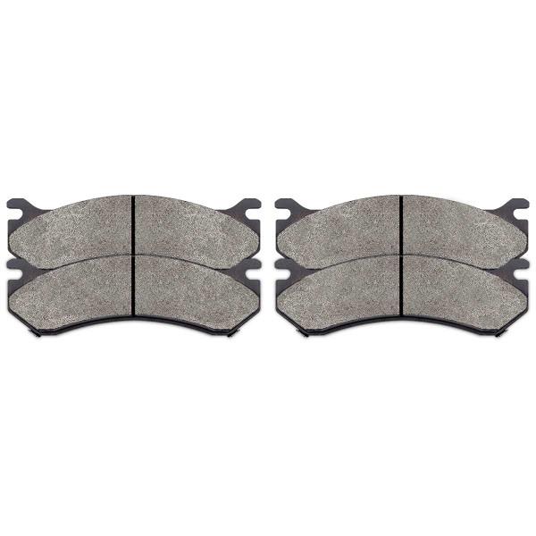 Front and Rear Semi Metallic Brake Pad Bundle - Part # SMK785-784