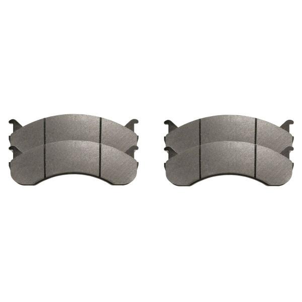 Semi Metallic Brake Pad Set - Part # SMK786