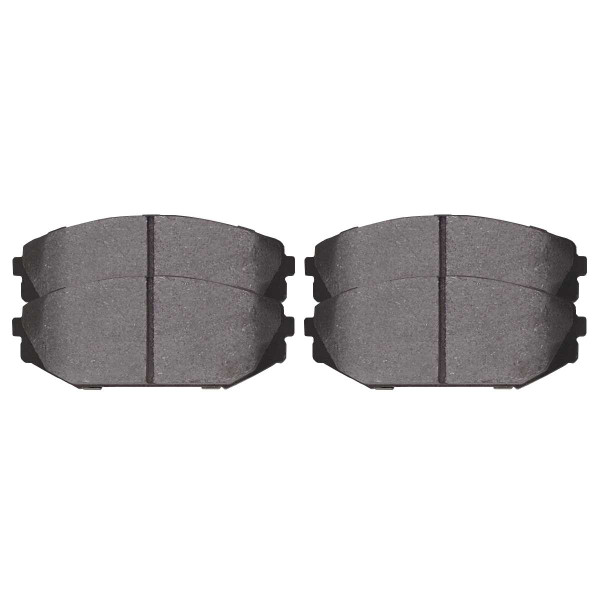 Front Semi Metallic Brake Pad Set - Part # SMK793
