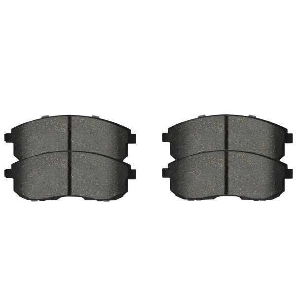 Front and Rear Semi Metallic Brake Pad Bundle - Part # SMK815-905