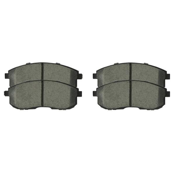 Front Semi Metallic Brake Pad Set - Part # SMK815