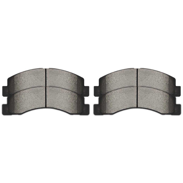 Front Semi Metallic Brake Pad Set - Part # SMK824