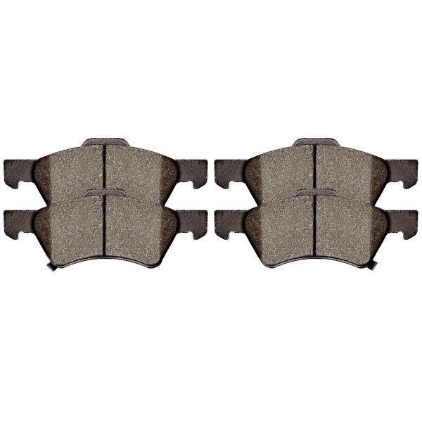 Front Semi Metallic Brake Pad Set - Part # SMK857
