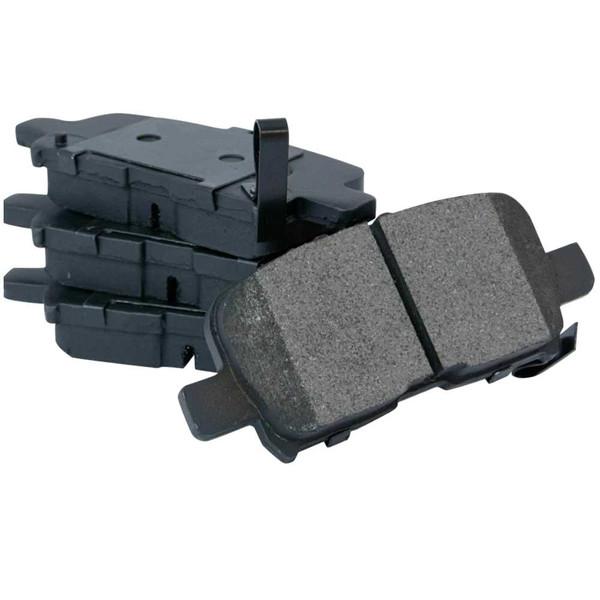 Rear Semi-Metallic Brake Pad Set - Part # SMK865
