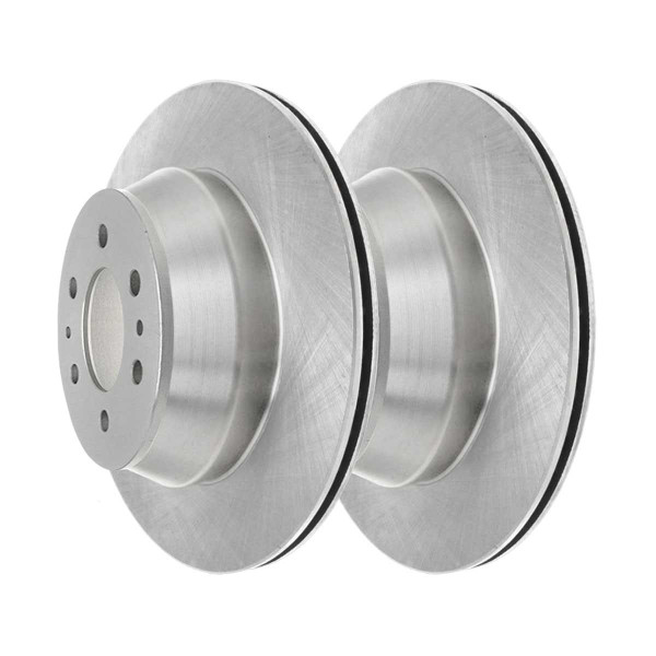 Front and Rear Semi Metallic Brake Pad and Rotor Bundle - Part # SMK8824822