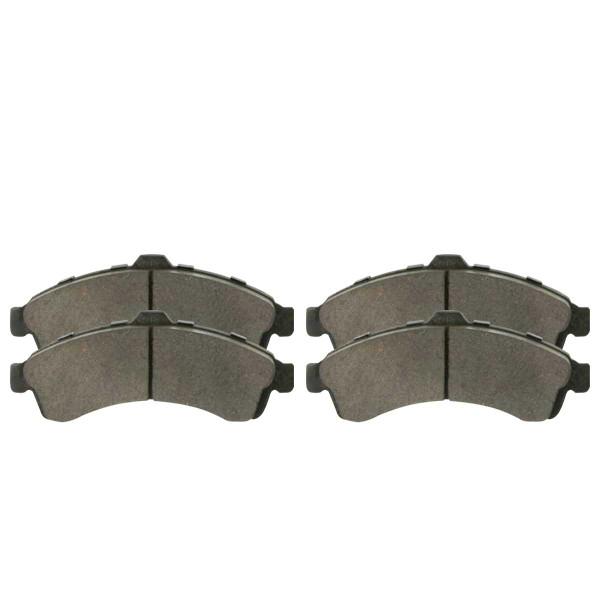 Front Semi Metallic Brake Pad Set - Part # SMK882