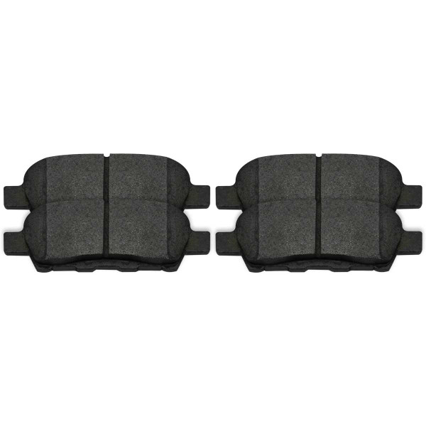 Rear Semi Metallic Brake Pad Set 4 Wheel Disc - Part # SMK905