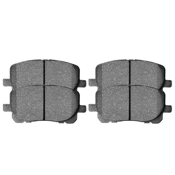 Front Semi Metallic Brake Pad Set - Part # SMK923