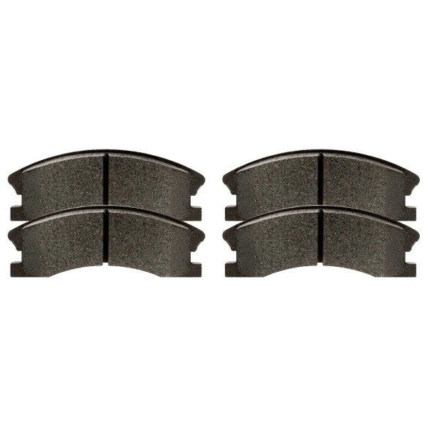 Front Semi Metallic Brake Pad Set - Part # SMK945