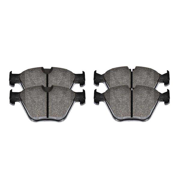 Front Semi-Metallic Brake Pad Set - Part # SMK946