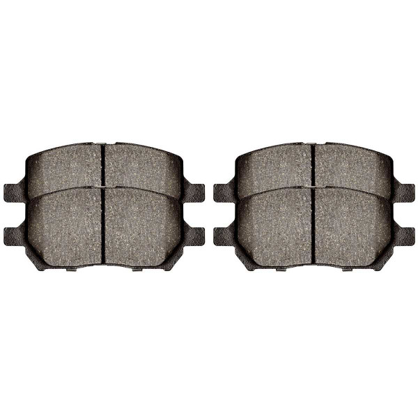 Front Semi Metallic Brake Pad Set - Part # SMK956
