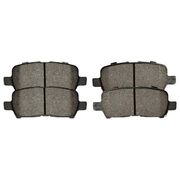 Rear Semi Metallic Brake Pad Set - Part # SMK999