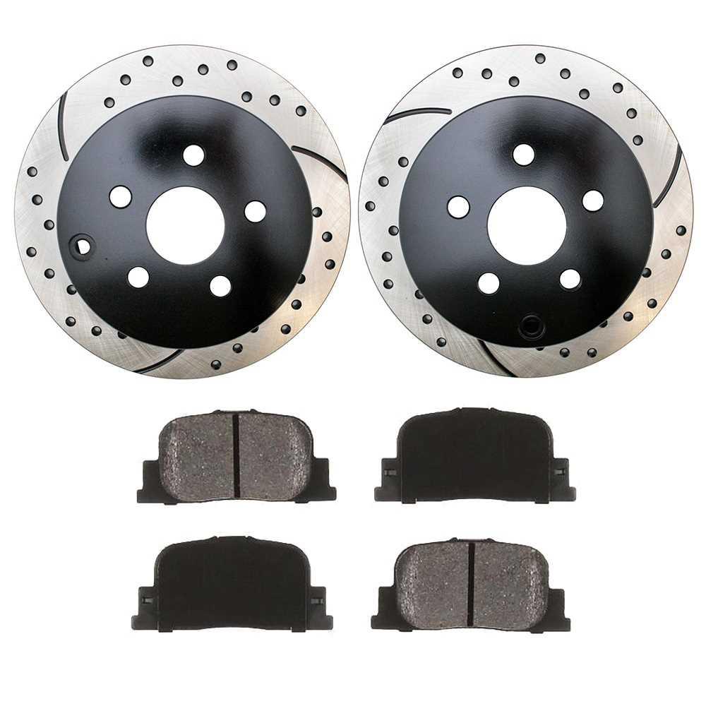 Smkpr4127141271835 Rear Set 2 Performance Rotors 1