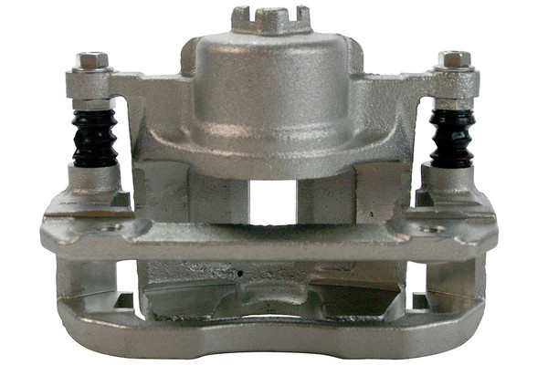Front Performance Silver Rotors Calipers and Performance Pads Set - Part # SRBRPKG00126