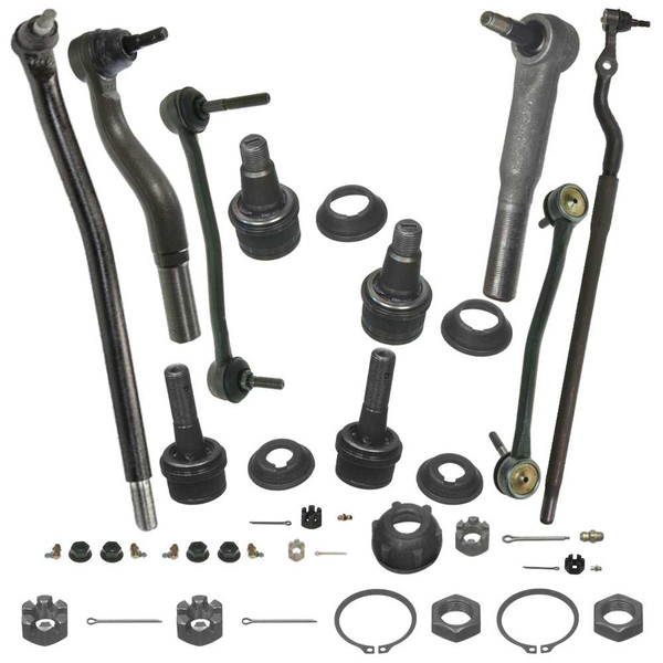 [Set] Twelve (12) Piece Chassis Suspension Kit - Part # SUSPKG049
