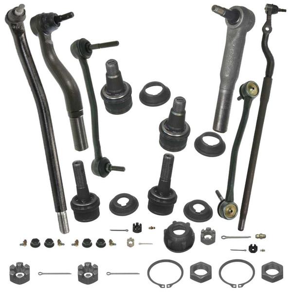 [Set] Twelve (12) Piece Chassis Suspension Kit - Part # SUSPKG049