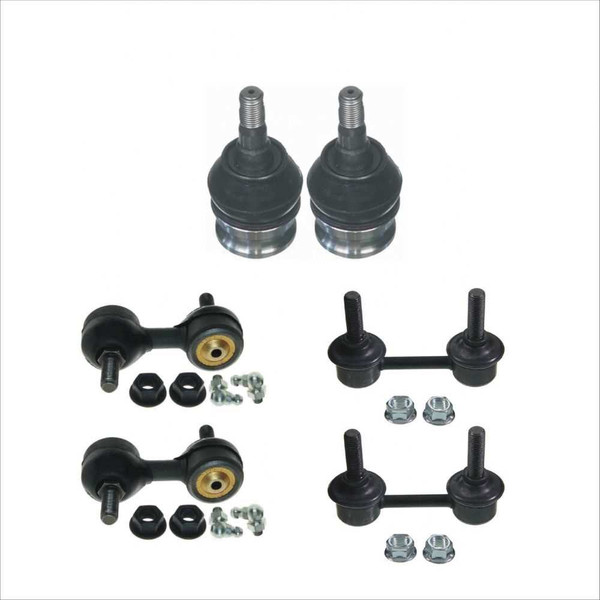 2 Lower Ball Joint 4 Sway Bar Links - Part # SUSPKG050092