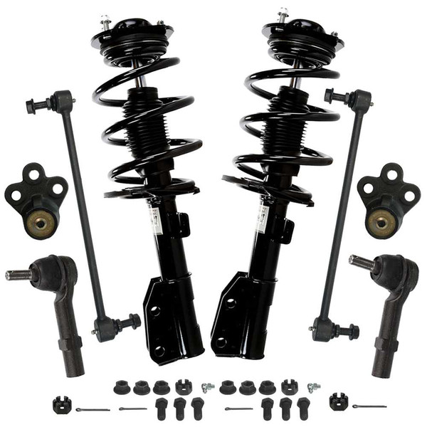 [Set] Eight 8 Piece Chassis Suspension Kit - Part # SUSPKG100015