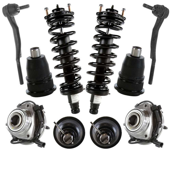 [Set] Ten 10 Piece Chassis Suspension Kit - Part # SUSPKG100047