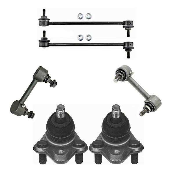 [Front & Rear set] 2 Ball Joints 4 Sway Bar Link/Kits - Part # SUSPKG10046