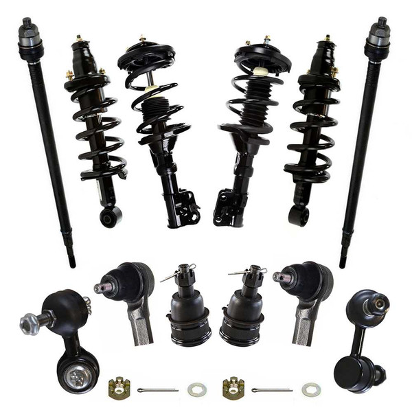 Twelve (12) Piece Chassis Suspension Kit - Part # SUSPKG101013