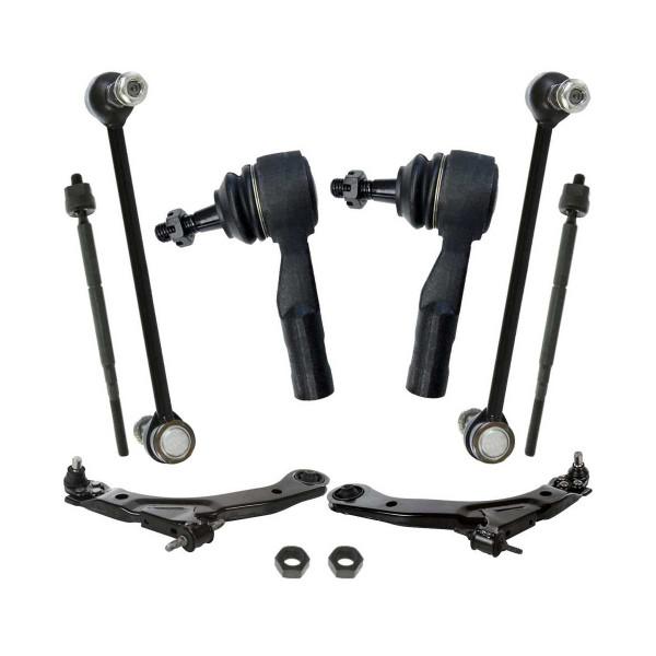 2 Control Arms, 4 Tie Rods & 2 Sway Bars - Part # SUSPKG10157