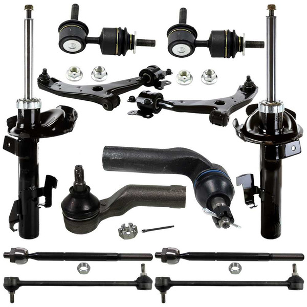 Ten (12) Piece Chassis Suspension Kit for a [2004-2010] [MAZDA] [3 5] - Part # SUSPKG10181