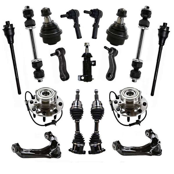 [Set] 17 Piece Suspension Package - Part # SUSPKG10238