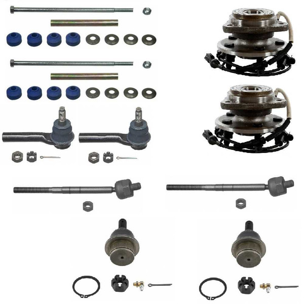 10 pieces of Chassis and Hub Bearings parts - Part # SUSPKG10240