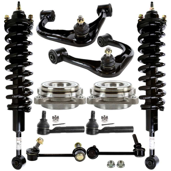 Tie Rods, Control Arms, Complete Struts, Hub Bearings and Sway Bars - Part # SUSPKG1080