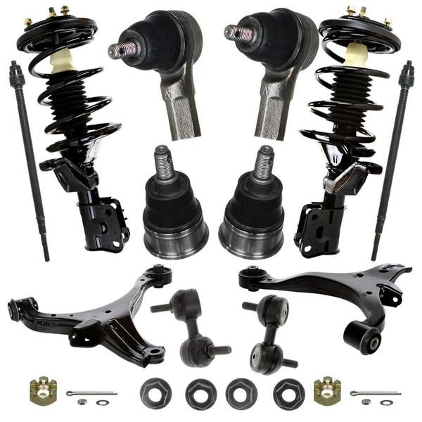 [Set] Twelve (12) Piece Chassis Suspension Kit - Part # SUSPKG168