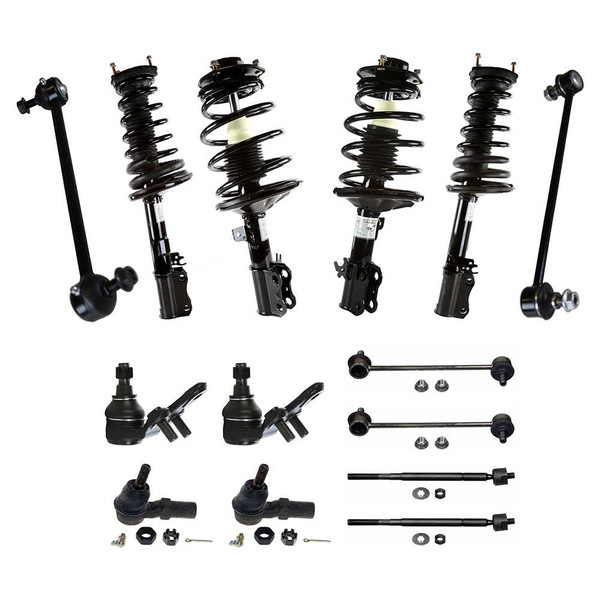 [Set] Fourteen (14) Piece Chassis Suspension Kit - Part # SUSPKG179