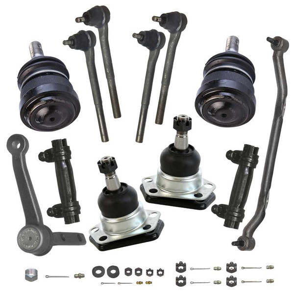 [Set] Twelve (12) Piece Chassis Suspension Kit - Part # SUSPKG256