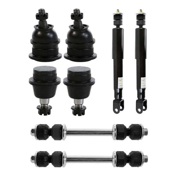 [Set] Eight 8 Piece Chassis Suspension Kit - Part # SUSPKG364