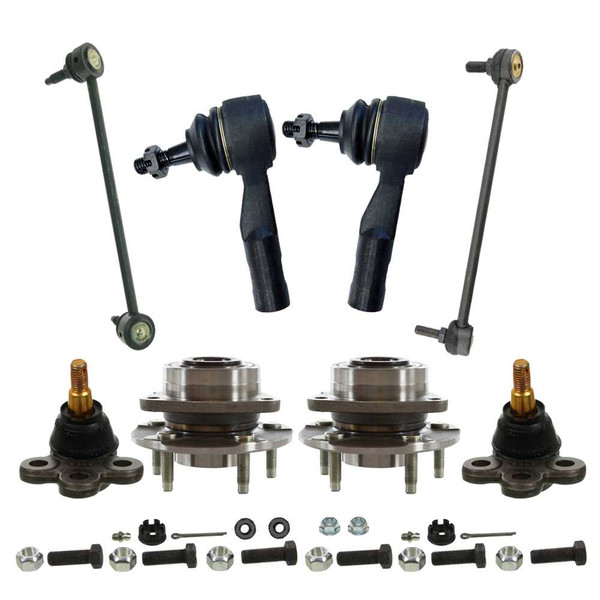 Eight Piece Front Suspension Package - Part # SUSPKG637