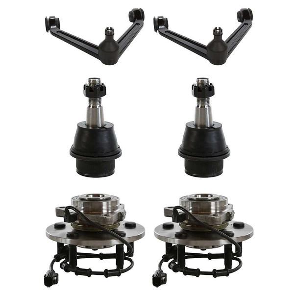 [Set] Six 6 Piece Chassis Suspension Kit - Part # SUSPKG702