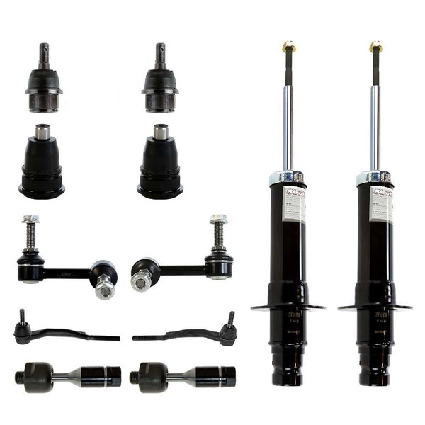 [Set] Twelve (12) Piece Chassis Suspension Kit - Part # SUSPKG765