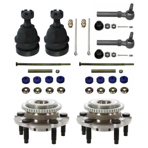 [Set] Eight 8 Piece Chassis Suspension Kit - Part # SUSPPK00023