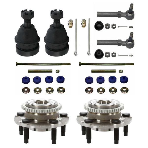 [Set] Eight 8 Piece Chassis Suspension Kit - Part # SUSPPK00023