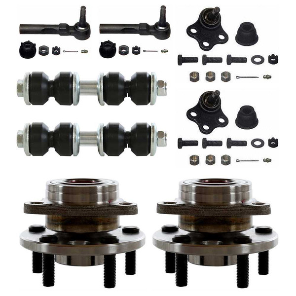 [Set] Eight 8 Piece Chassis Suspension Kit - Part # SUSPPK00027