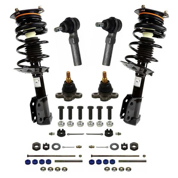 [Set] Eight 8 Piece Chassis Suspension Kit - Part # SUSPPK00034
