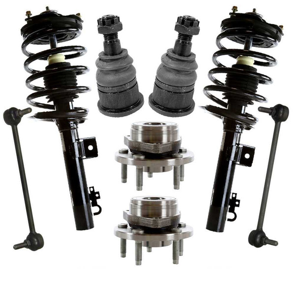 [Set] Eight 8 Piece Chassis Suspension Kit - Part # SUSPPK00186