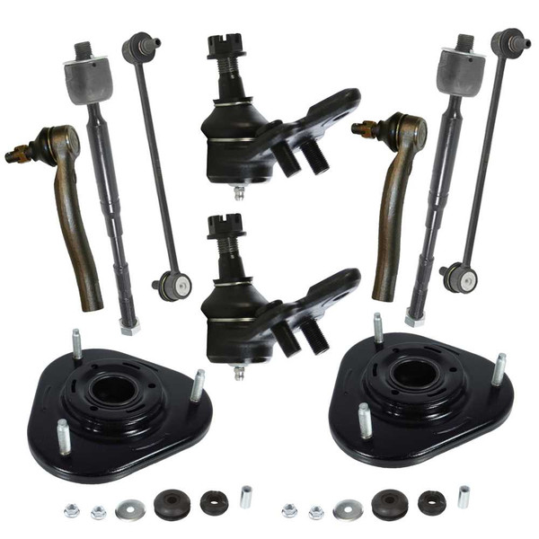 Twelve Piece Front Suspension Package - Part # SUSPPK00822