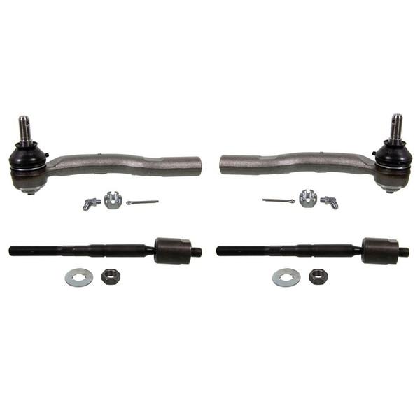 Four Steering Tie Rod Ends - Part # SUSPPK00938