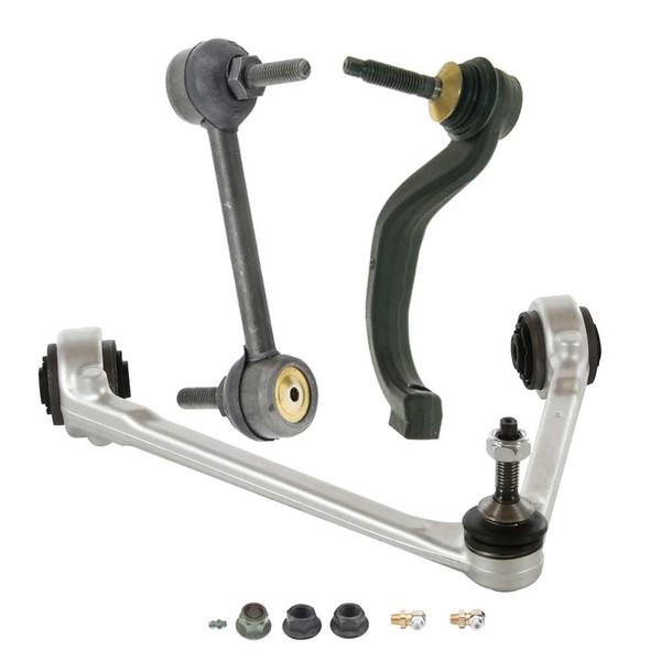 [Set] 1 Upper Control Arm 1 Outer Tie Rod & 1 Sway Bar Link - Part # SUSPPK00999