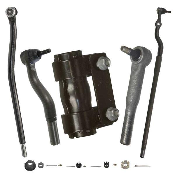 [Set] 2 Outer Tie Rods 1 Tie Rod End 1 Adjust Sleeve 1 Pitman Arm - Part # TKCKTK412931