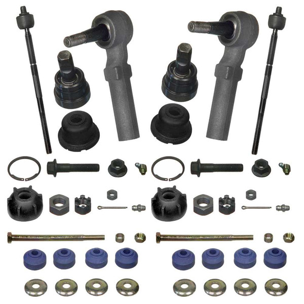 Dodge Dynasty 1990 1993 Front Outer Steering: [Set] 2 Lower Ball Joints 2 Front Sway