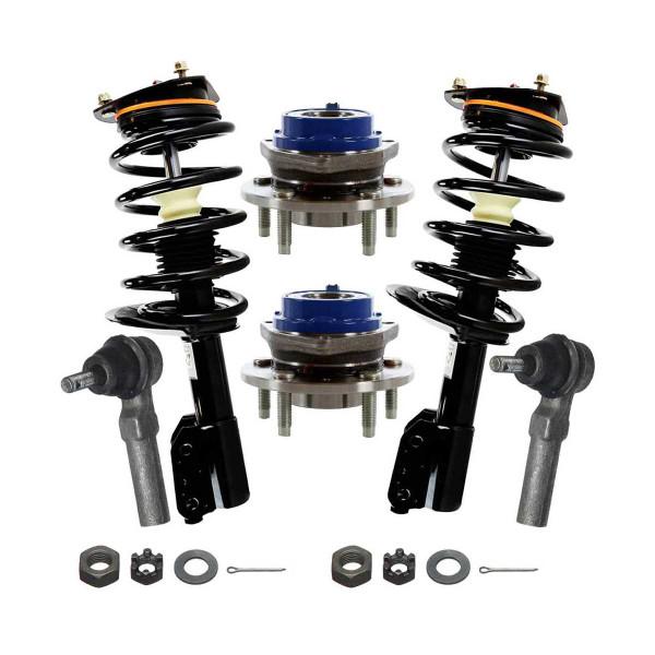[Set] Six 6 Piece Chassis Suspension Kit - Part # TRK3031-HB613123