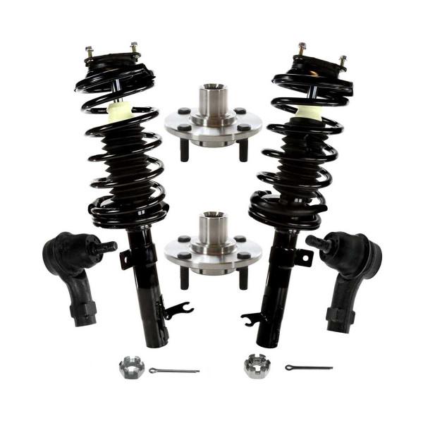 [Set] Six 6 Piece Chassis Suspension Kit - Part # TRK3053-100019